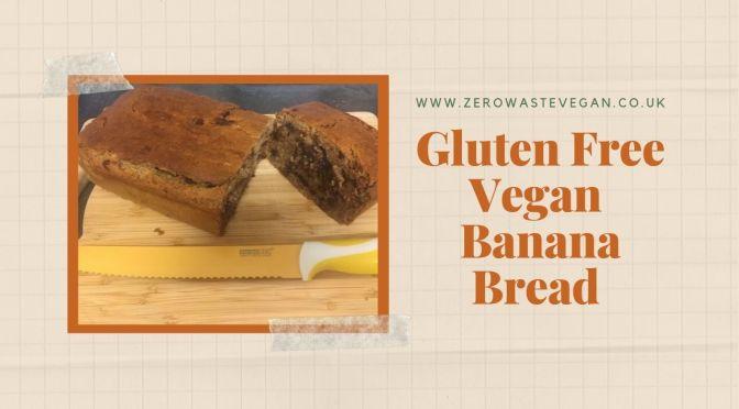 Gluten Free VEGAN BANANA BREAD